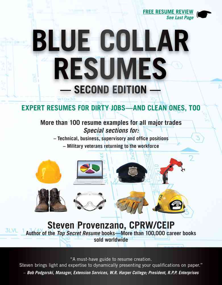 Blue Collar Resumes By Provenzano, Steve