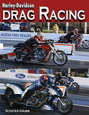Harley-davidson Drag Racing By Grubb, Scooter